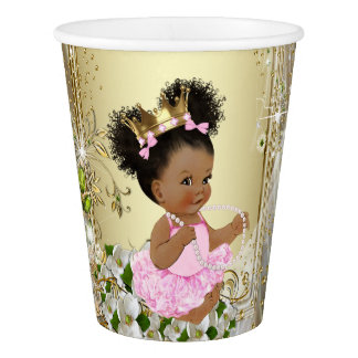 Princess Baby Shower Paper Cups