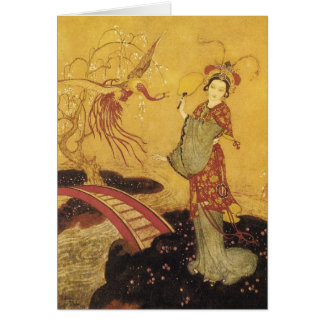 Princess Badoura Dulac Art Card