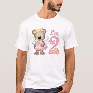 Princess Bear 2nd Birthday T-Shirt