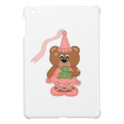 Princess Bear (peach) iPad Mini Cases