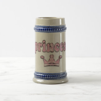 princess beer stein