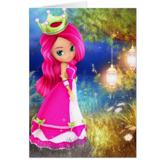 Princess Berry Greeting Card