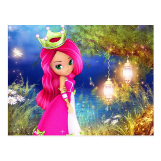 Princess Berry Postcard