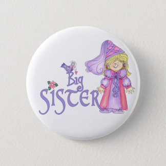 Princess Big Sister 6 Cm Round Badge