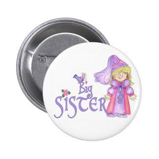 Princess Big Sister 6 Cm Round Badge