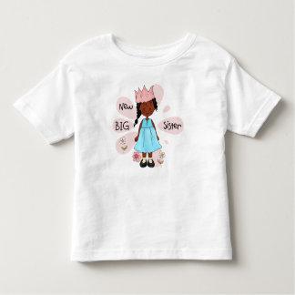 Princess Big Sister African American Toddler T-Shirt