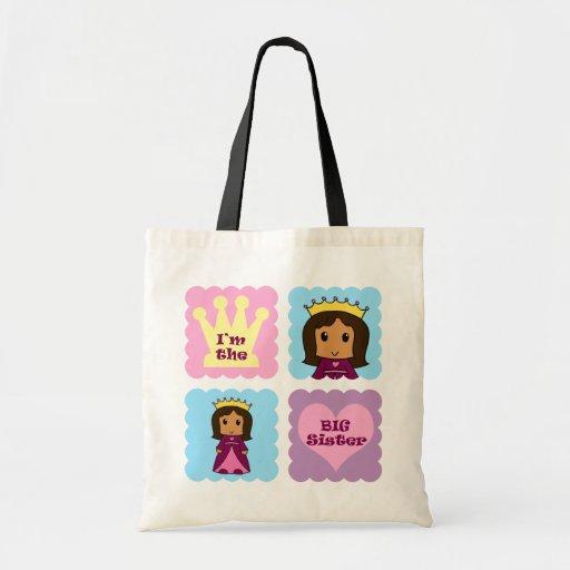 Princess Big Sister Canvas Bags