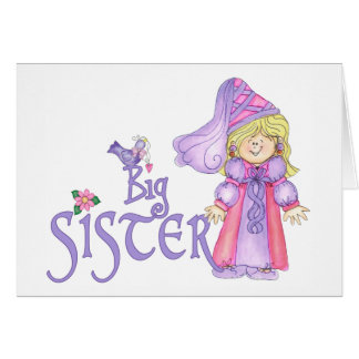 Princess Big Sister Card