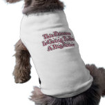 Princess Big Sister Sleeveless Dog Shirt