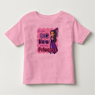 Princess Big Sister Toddler T-Shirt