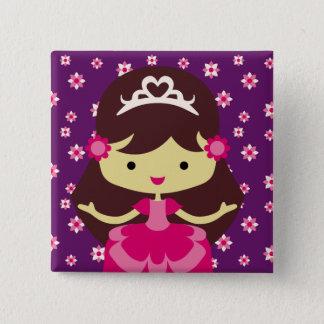 Princess Birthday Button