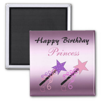 Princess Birthday Wishes Magnet