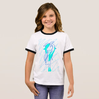 Princess Blue Ringer T-Shirt