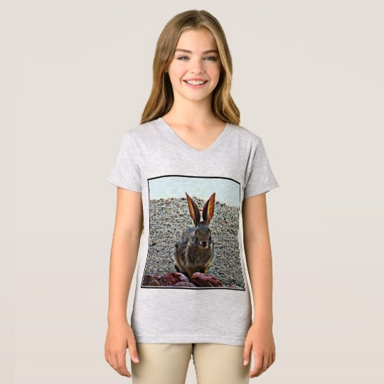 Princess Bunny Girl's Jersey Tee Shirt