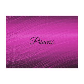 Princess Stretched Canvas Prints