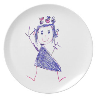 Princess Carolina Plate