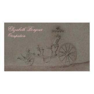 Princess Carriage Business Card