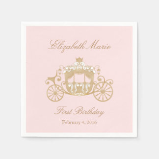 Princess Carriage Napkins Disposable Napkin