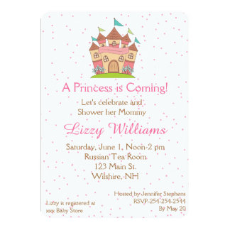 Browse Zazzle's Princess Baby Shower Invitations Collection and personalise by colour, design, or style.