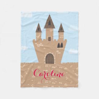 Princess Castle Fleece Blanket