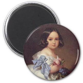 Princess Charlotte of Belgium Fridge Magnet