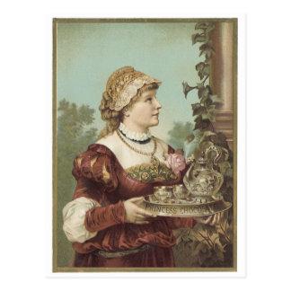 Princess Chocolate Post Card