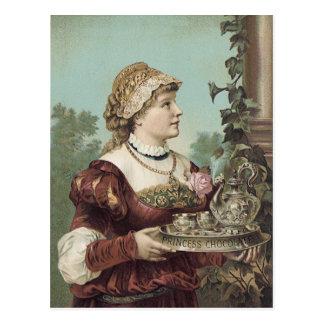 Princess Chocolate Trade Card