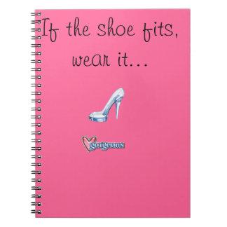 Princess Cinderella Notepad Notebook