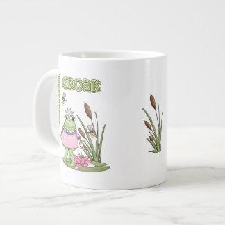 Princess CROAK...CROAK! Large Coffee Mug