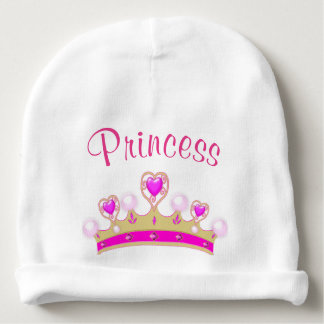 Princess Crown Baby Infant Beanie Hat Baby Beanie