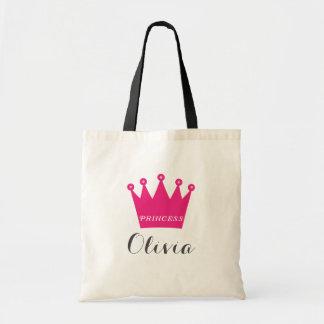 Princess Crown Budget Tote Bag