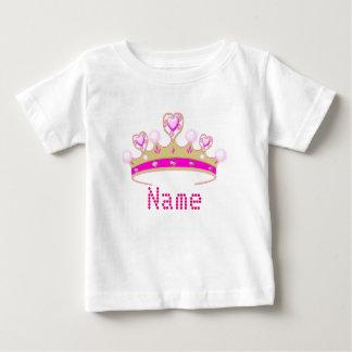Princess Crown Personalised Baby Creeper
