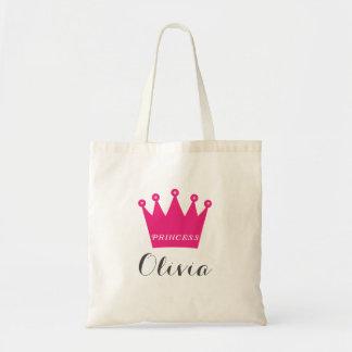 Princess Crown Tote Bag
