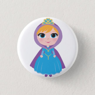 Princess Dakota Button