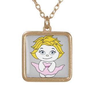 Princess Dancing Cartoon Necklaces