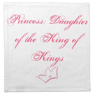 Princess: Daughter of the King of Kings Printed Napkin