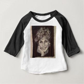 PRINCESS DIANA INK PEN PORTRAIT BABY T-Shirt