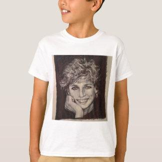 PRINCESS DIANA INK PEN PORTRAIT T-Shirt