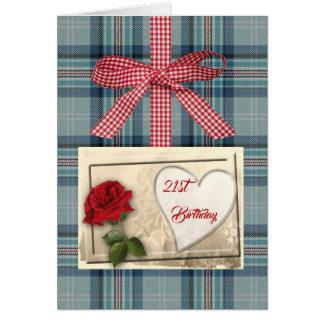 Princess Diana Memorial Tartan Card