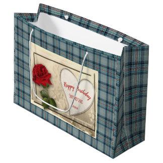 Princess Diana Memorial Tartan Large Gift Bag