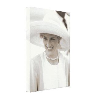 Princess Diana Nigeria 1990 Canvas Print