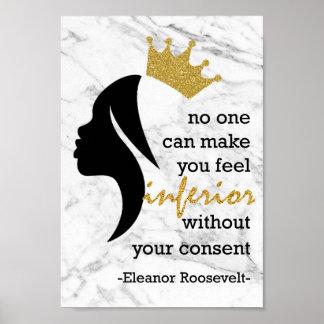 Princess Diaries Quote Poster