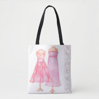Princess dress tote bag
