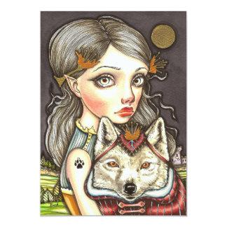 Princess Elaine and Thibault the Fearless 13 Cm X 18 Cm Invitation Card