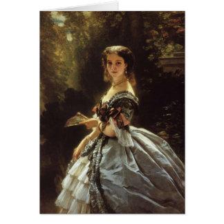 princess elizabeth esperovna belosselsky fine art card