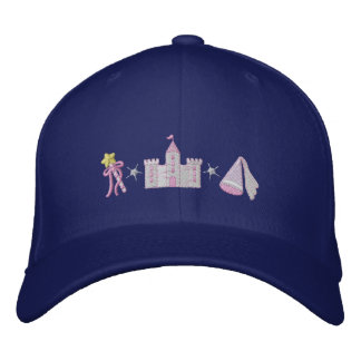 Princess Embroidered Hats