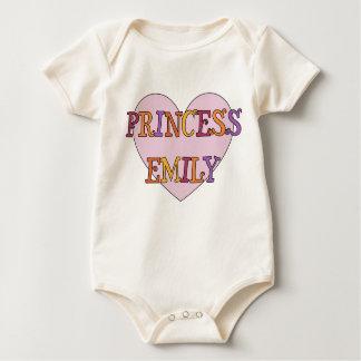 Princess Emily Baby Bodysuit