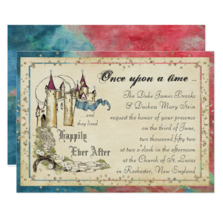 Princess Fairy Tale Invitations