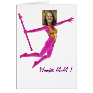 Princess Fairy Wand, Pink Fushia - with YOUR Pho Card