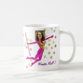 Princess Fairy Wand, Pink Fushia - with YOUR Pho Coffee Mug